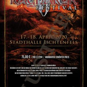 Ragnarök Festival Ticket Muster