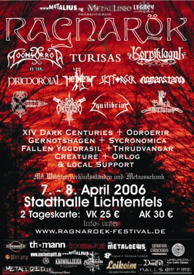 Ragnarök Festival 2006