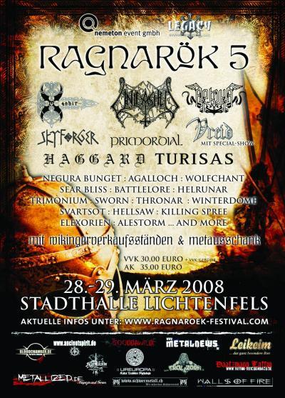 Ragnarök Festival 2008