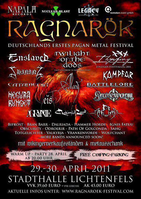 Ragnarök Festival 2011