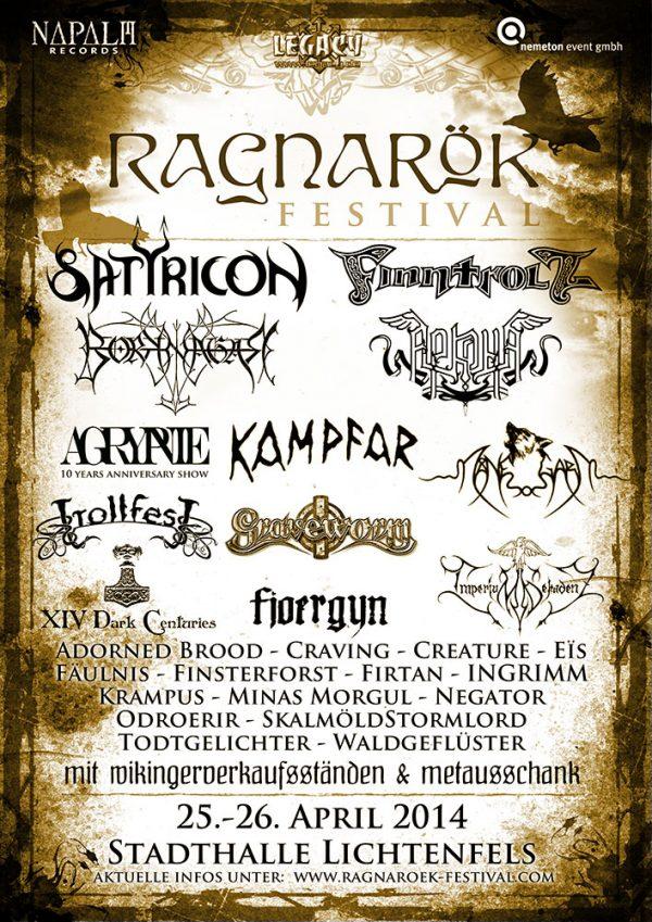 Ragnarök Festival 2014
