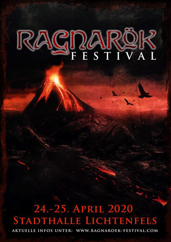 Ragnarök Festival Plakat 2020